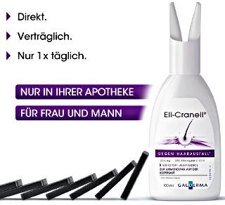Ell-Cranell gegen Haarausfall