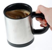 selbstrührende Tasse für Kaffee & Tee