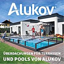 Überdachungen für Terrassen und Pools von Alukov
