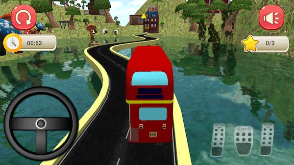 Bus Simulator Rennen Screenshot