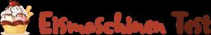 Eismaschinen-Test-Logo