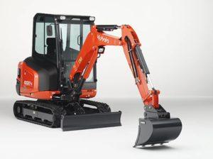 Kubota-Baumaschinen-Minibagger-KX027-Bild