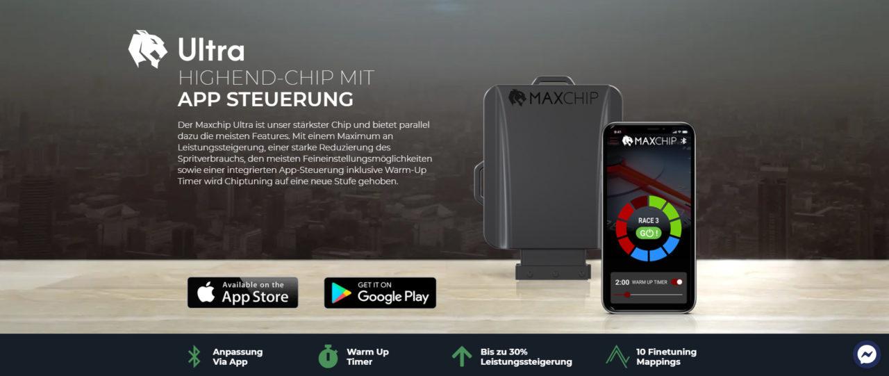 Maxchip-Screeenshot