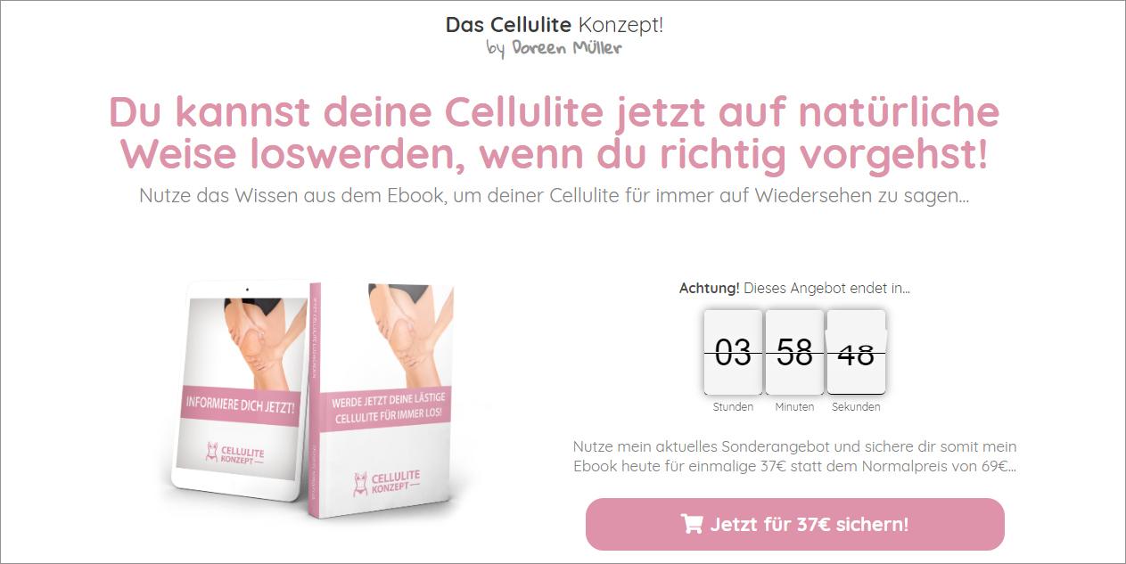Cellulite-Konzept-Screenshot
